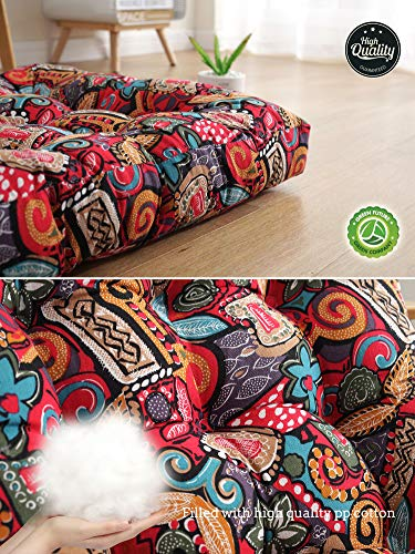 Boho Decor Floor Seat Cushion Pillow 22